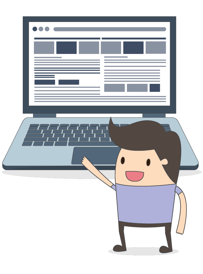 Realizzazione siti web ad alto impatto grafico